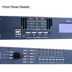 Image 3 - 4in 8out Audio Sound Processor DSP Digital Signal Processors Tulun Play 4.8SP