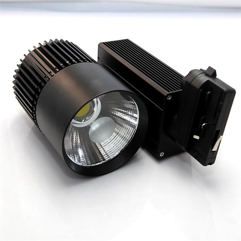 4LINE LED Track Light 30W 35W COB Spotlights AC110V-240V Modern Ceiling Home Wall Deco Track Rail Spot Fixture for Retail Shop