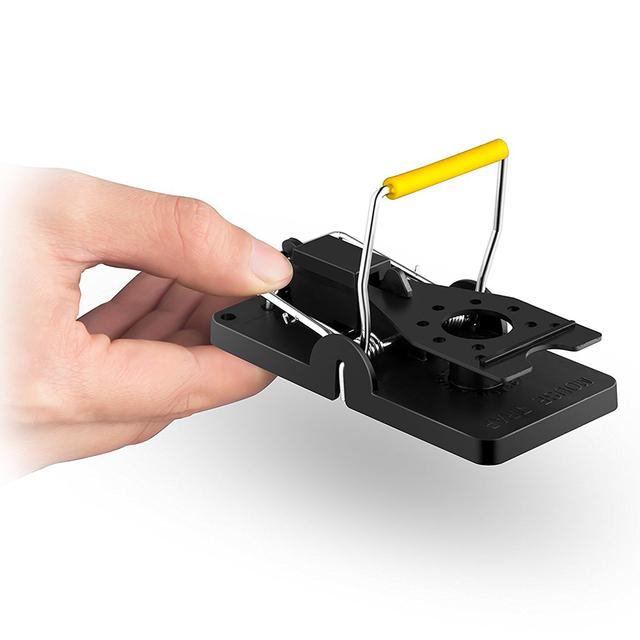 Reusable Mouse Mice Rat Trap Killer Control Trap-Easy Pest Catching Catcher PBT Pest Reject