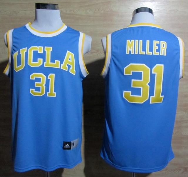 best website 8d027 874e9 Reggie Miller Basketball Jersey 31 Reggie Miller UCLA Bruins ...