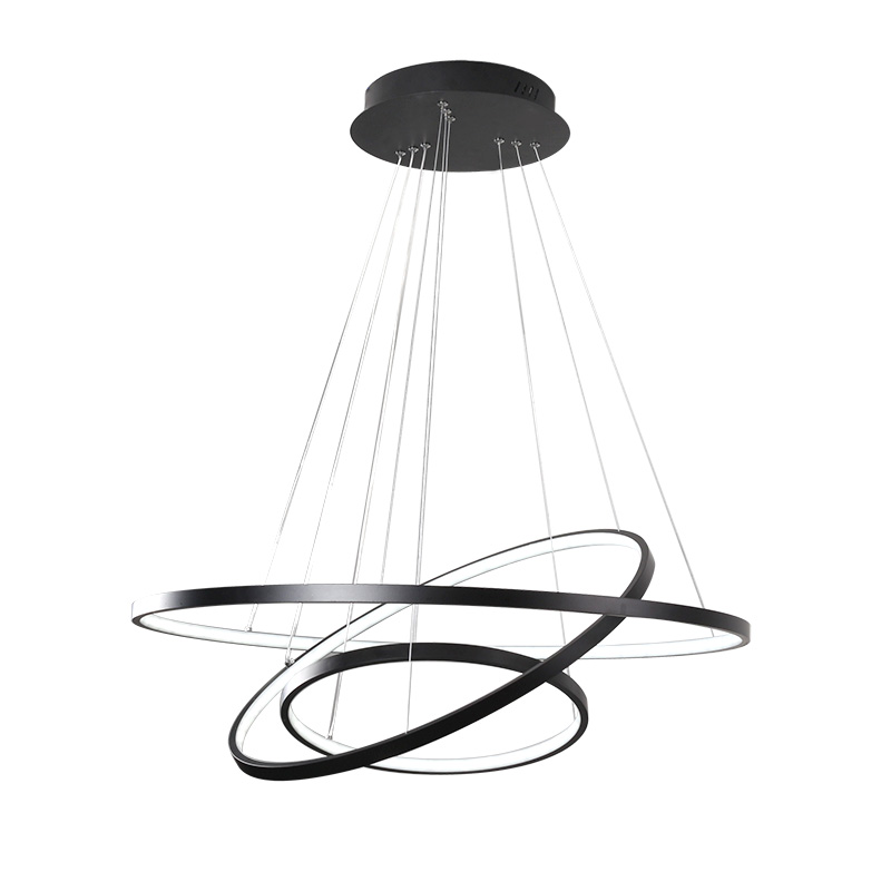 Simple Modern Circle LED Pendant Light Acrylic Aluminum Round Ring Light Ceiling Hanging Fixture For Living Room Bedroom Hallway round thin iron acrylic geometry ceiling light fixture surface mounted modern simple plafon lamp for hallway bedroom living room