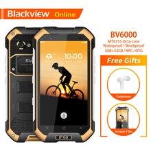 Blackview Original BV6000 4.7″ IP68 Waterproof Rugged Smartphone 3GB+32GB Octa-Core 13.0MP Camera Tough Heavy Duty Mobile Phone