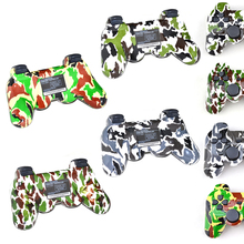 Camo color Wireless virration Bluetooth Game Controller For sony playstation 3 for PS3 Wireless Controller Joystick Gamepad