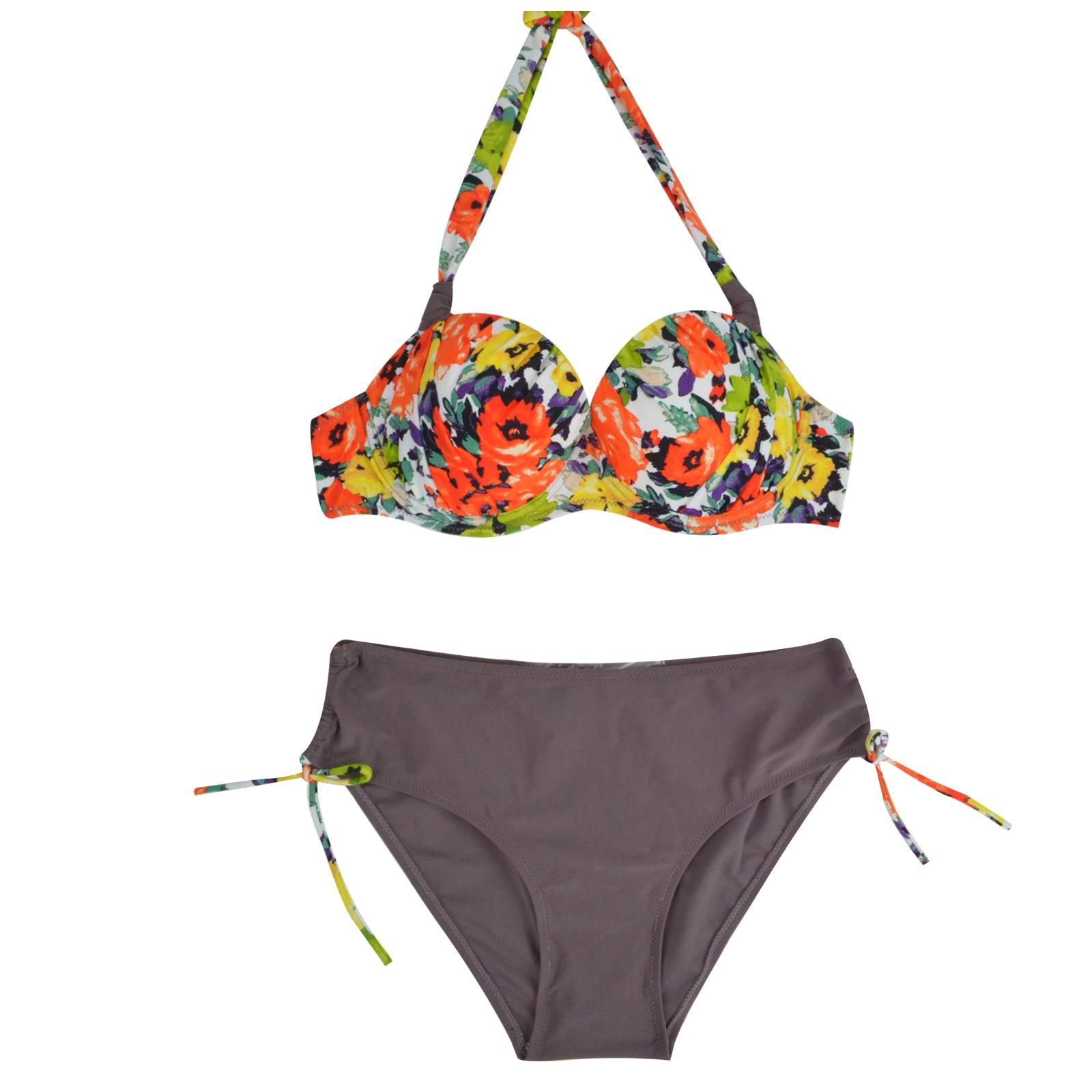 Européens Et Américains De Vêtements Petit Bikini Sexy En Bikini Au Printemps La Poitrine De Natation Des Maillots De Bain, Fine Dentelle Femmes,L,Taille Haute, Paragraphe