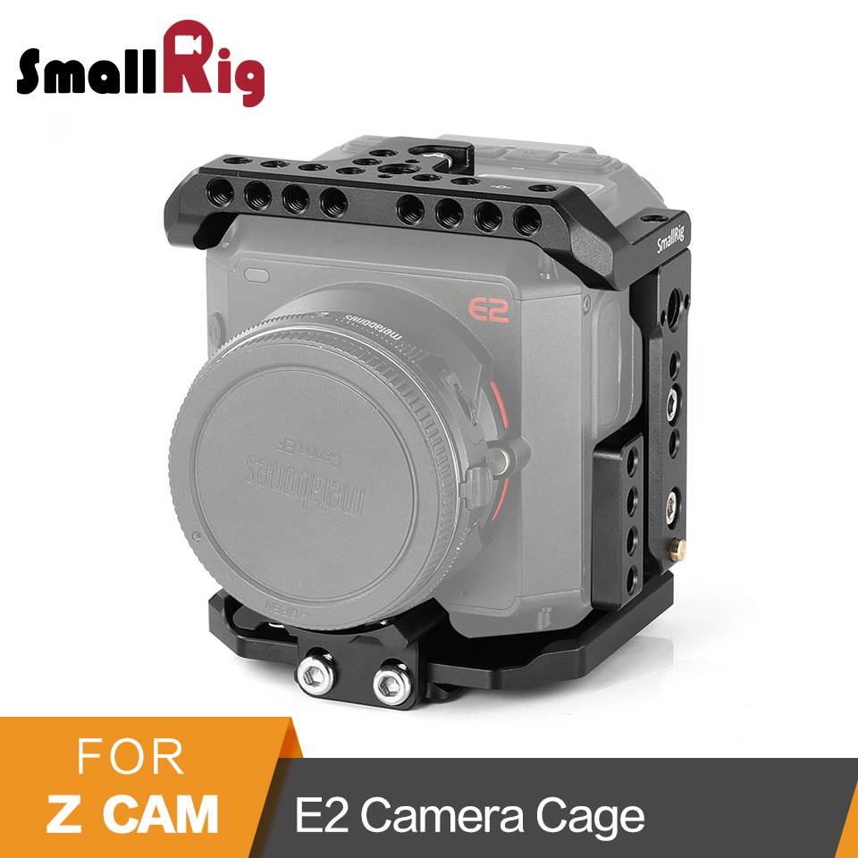 SmallRig Cage for Z cam E2 Camera Cage With Top Plate/Bottom Plate/Side Plate/Lens Support/USB/HDMI Cable Clamp Cage Kit -2264SmallRig Cage for Z cam E2 Camera Cage With Top Plate/Bottom Plate/Side Plate/Lens Support/USB/HDMI Cable Clamp Cage Kit -2264