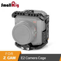 SmallRig Cage for Z cam E2 Camera Cage With Top Plate/Bottom Plate/Side Plate/Lens Support/USB/HDMI Cable Clamp Cage Kit -2264