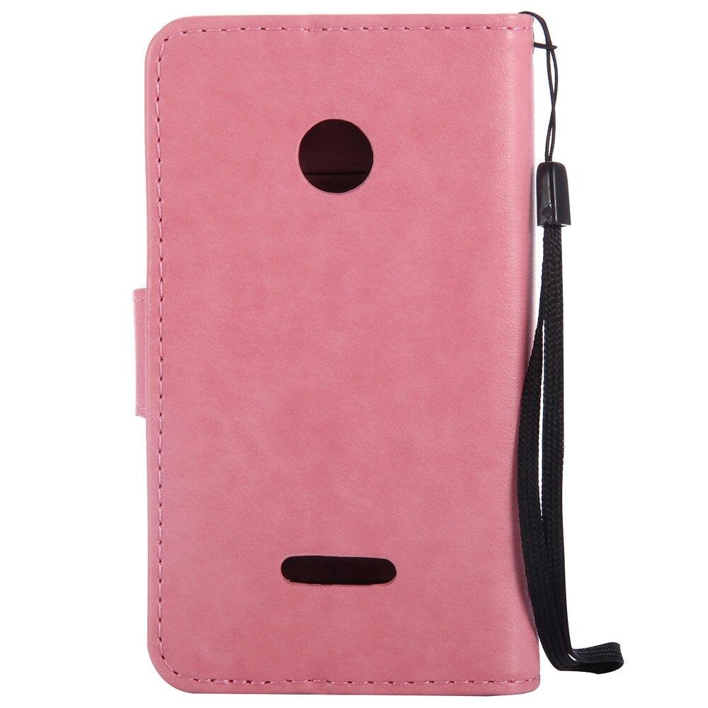 435 640 高級財布フリップ革スタンドカバー漫画猫キャパ Lumia