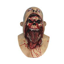 2016 Hot Full Face Schmelzen Zombie Blutige Undead Horror Latex Scary Verrückt Halloween Maske VDZ62 T69