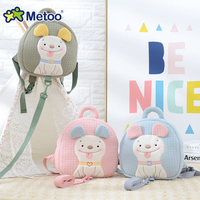 Metoo Doll Prevent Fall Cute Cartoon Traction Bags Kids Doll Plush Backpack Toy Children Shoulder Bag