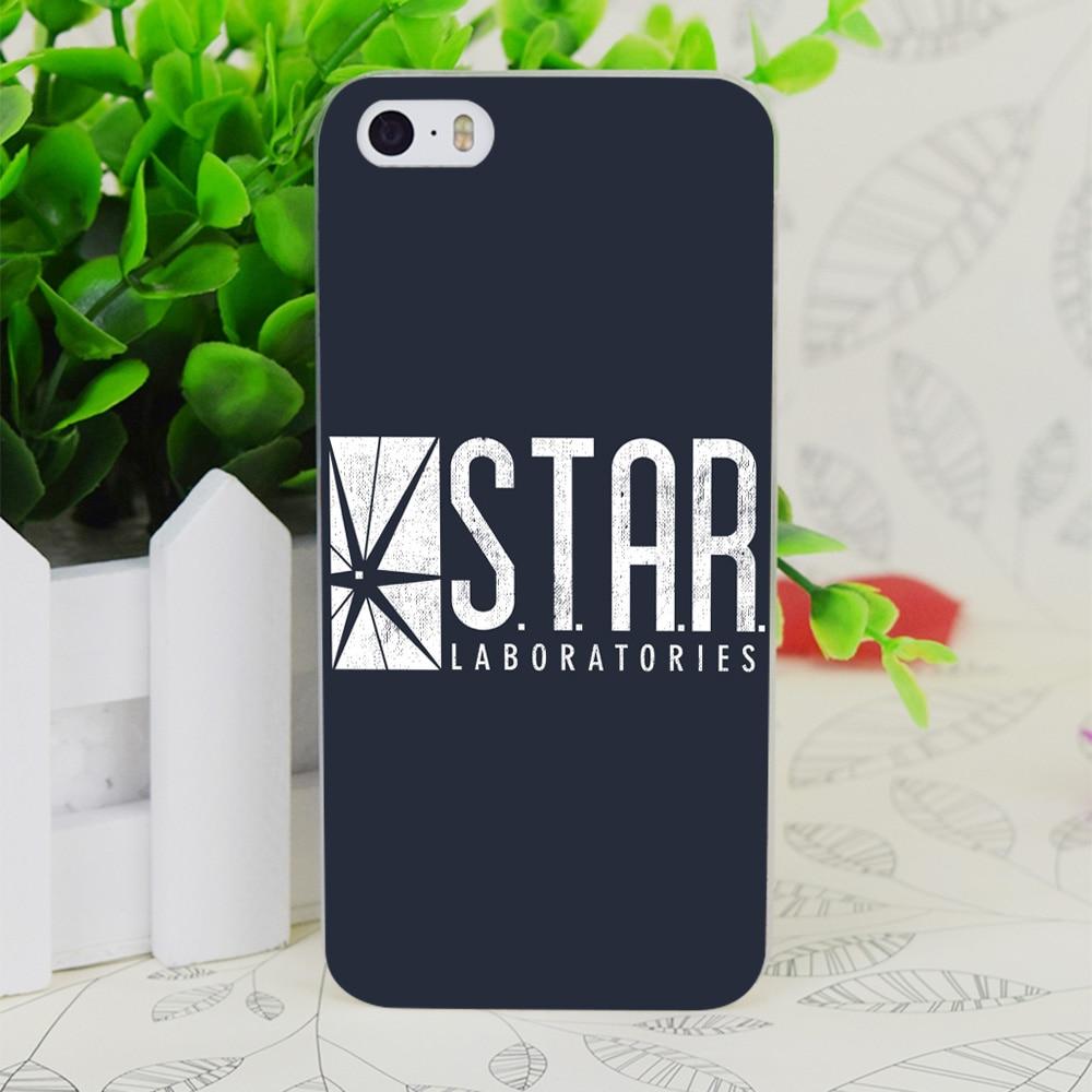 C1578 Star Labs прозрачный жесткий тонкий корпус кожного покрова для Apple IPhone 4 4S 4 г 5 5 г 5S se 5C 6 6 S плюс