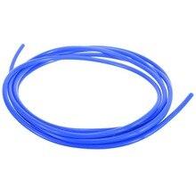 1 Roll 5M ID 4mm Blue Car Silicone Vacuum Hose Tube Pipe Silicon Tubing Car Vacuum Silicone Hose Racing Line Pipe Tube