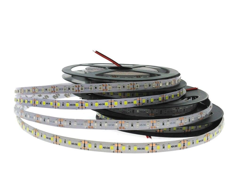 3528/2835 LED pásky 12V 120LED / M Flexibilní dekorační osvětlení LED páska Bílá / Teplá Bílá / Modrá / Zelená / Červená