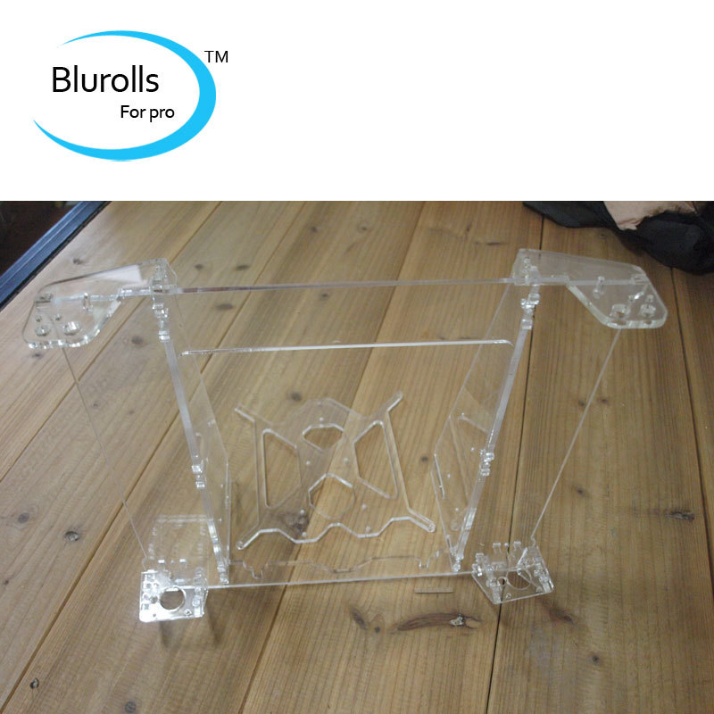цены 3d printer reprap mendel prusa I3 acrylic prusa i3 frame V2 laser cut frame set/kit 6mm thickness