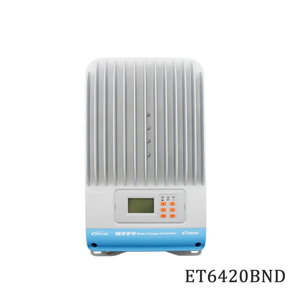 ETracer eT6420BND 60A 12V 24V 36V 48V 48V Panel solar MPPT carga célula solar PV Panel de Control de la batería Plegable 20W USB Panel Solar portátil plegable impermeable cargador de Panel Solar cargador de batería móvil