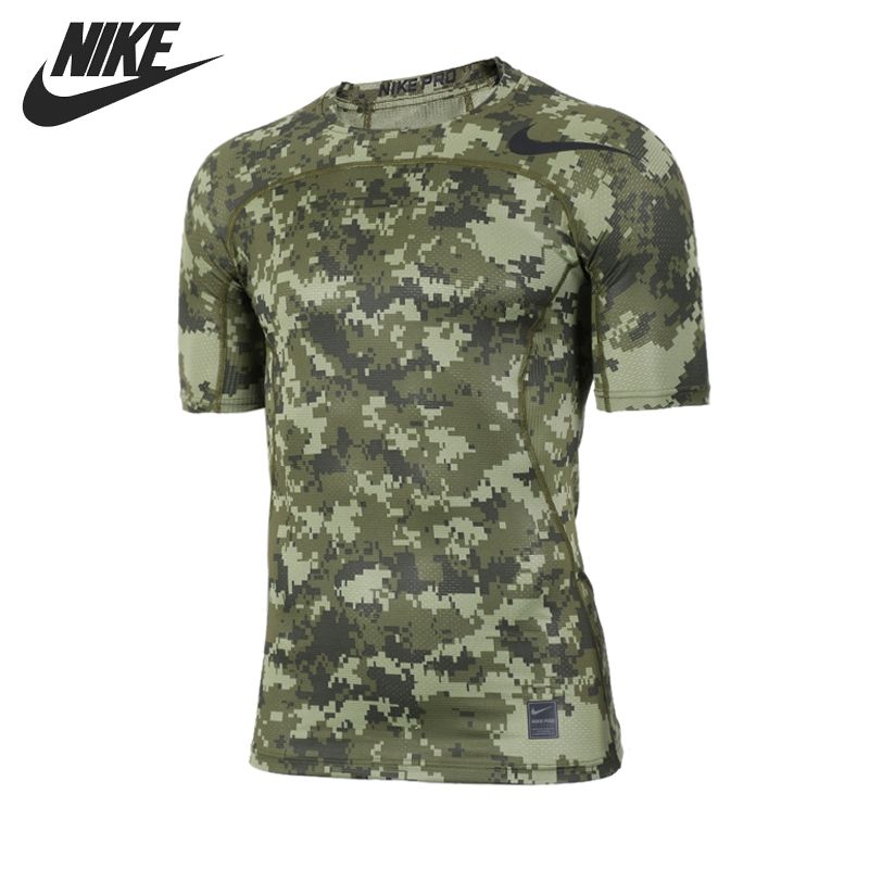 ФОТО Original New Arrival 2017 NIKE HPRCL TOP SS COMP D CA Men's T-shirts short sleeve Sportswear