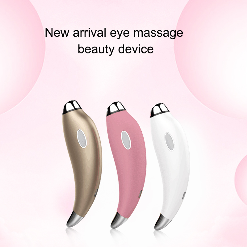 2018 electric eye beauty massager stick vibrating massage roller eyes device