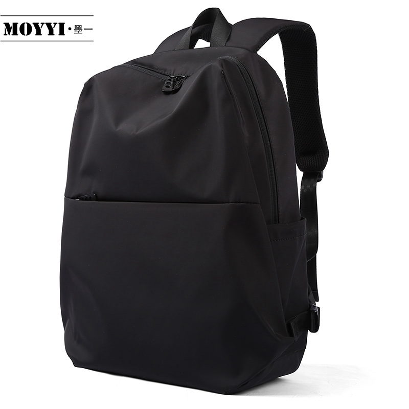 MOYYI Backpack Simple Style Large Capacity Rucksack Man Mountaineering Male Shoulder Bag Computer Functional Versatile Bags