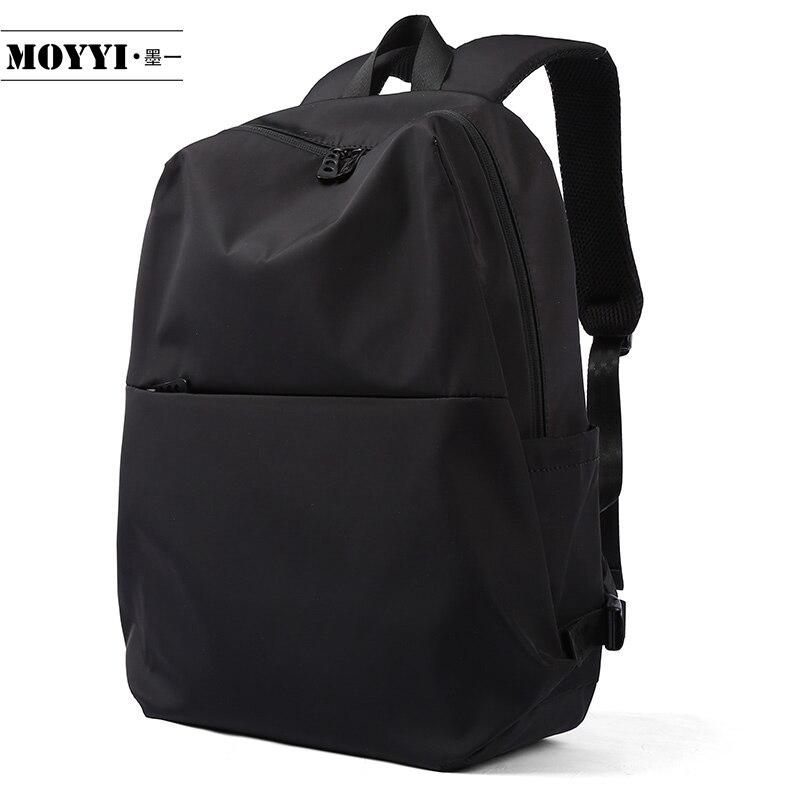 MOYYI Backpack Simple Style Large Capacity Rucksack Man Mountaineering Male Shoulder Bag Computer Functional Versatile Bags