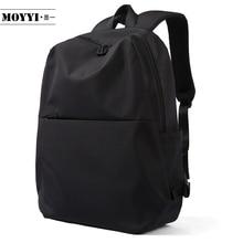 MOYYI mochila de estilo Simple para hombre, morral de gran capacidad, bolso de hombro masculino para montañismo, bolsas versátiles funcionales para ordenador