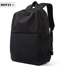 MOYYI sırt çantası basit tarzı büyük kapasiteli sırt çantası erkek dağcılık erkek omuzdan askili çanta bilgisayar fonksiyonel çok yönlü çanta