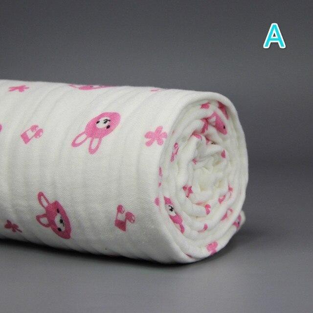 110x110 см Multifuction Swadding 6 Слоя Thinken и Мягкого Хлопка Детские Wrap Дышащий Bebe Младенческой Одеяло Новорожденного