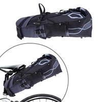 B SOUL 10L Bike Bag Bicycle Saddle Tail Seat Waterproof Storage Bags Cycling Rear Pack Painners