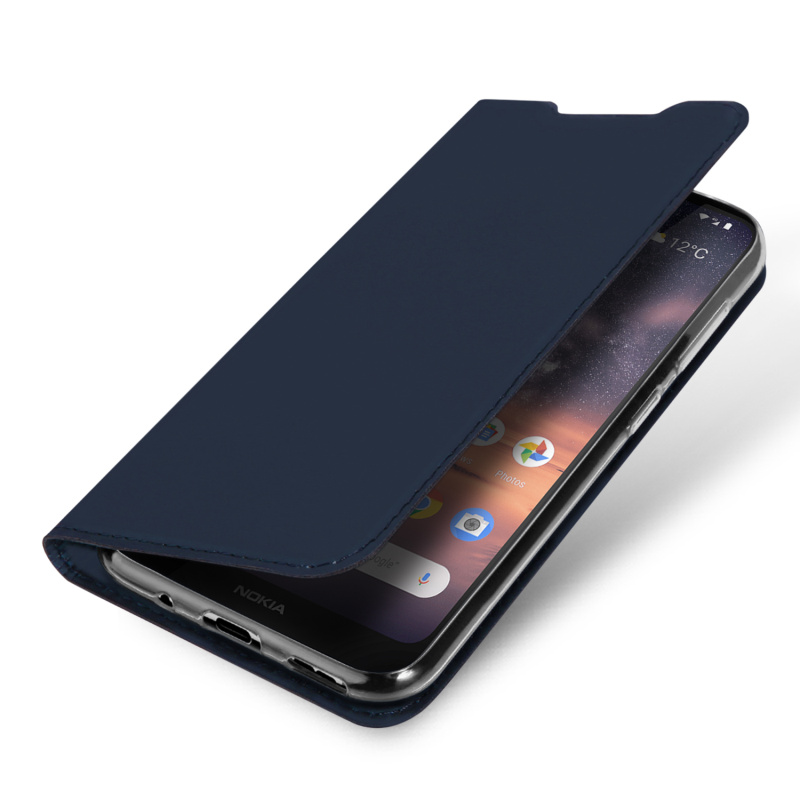 Original Dux Ducis Smooth Pu Leather Case For Nokia 3 2 Coque Funda Luxury Ultra thin Flip Wallet Stand Cover For Nokia 3 2 Case in Flip Cases from Cellphones Telecommunications