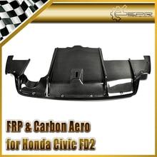 Автомобиль-Стайлинг для Honda Civic fd2 углерода Волокно чувствует себя Стиль задний диффузор под дном