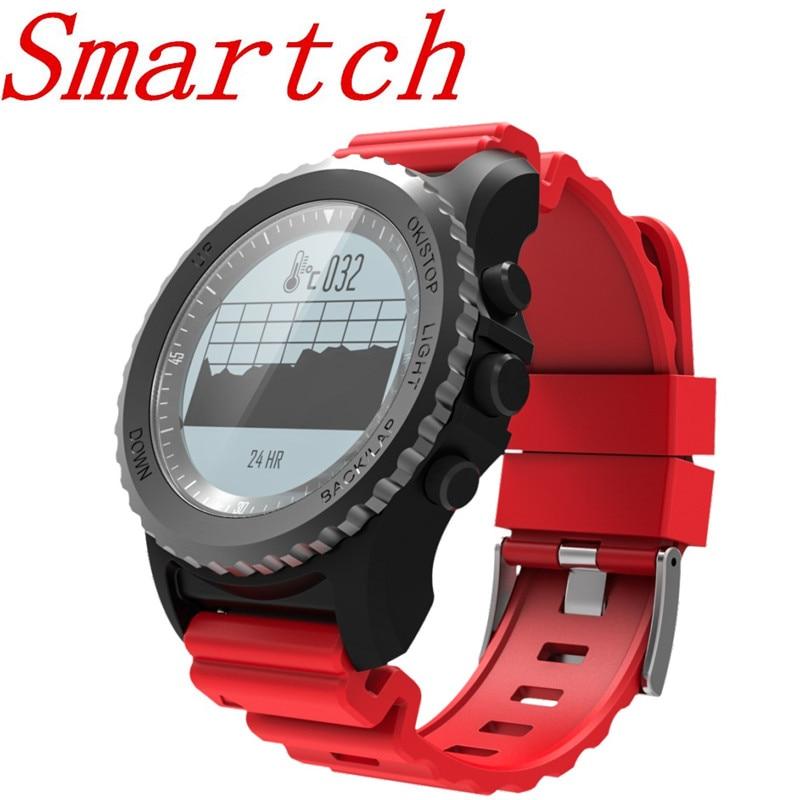 Smartch s968 GPS Watch Sport Smart Watch Men Women ip68 Waterproof Snorkeling Multiple sports mode heart rate GPS Bluetooth Smar smart baby watch q60s детские часы с gps голубые