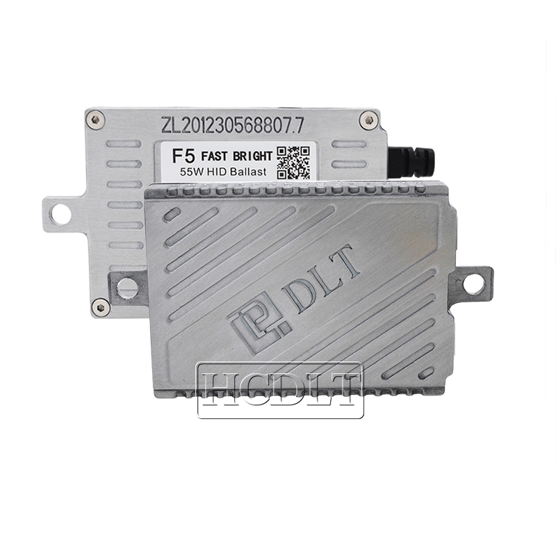 HCDLT AC 55W Fast Start HID Ballast DLT F5 Slim Reactor Block Ignition For 12V Car Light Headlamp Bulb Kit Xenon 55W HID Ballast (5)