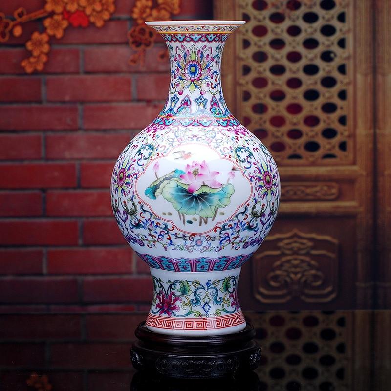 Antique ceramic wedding decorative vase palace restoring - Decorative flower vase ...