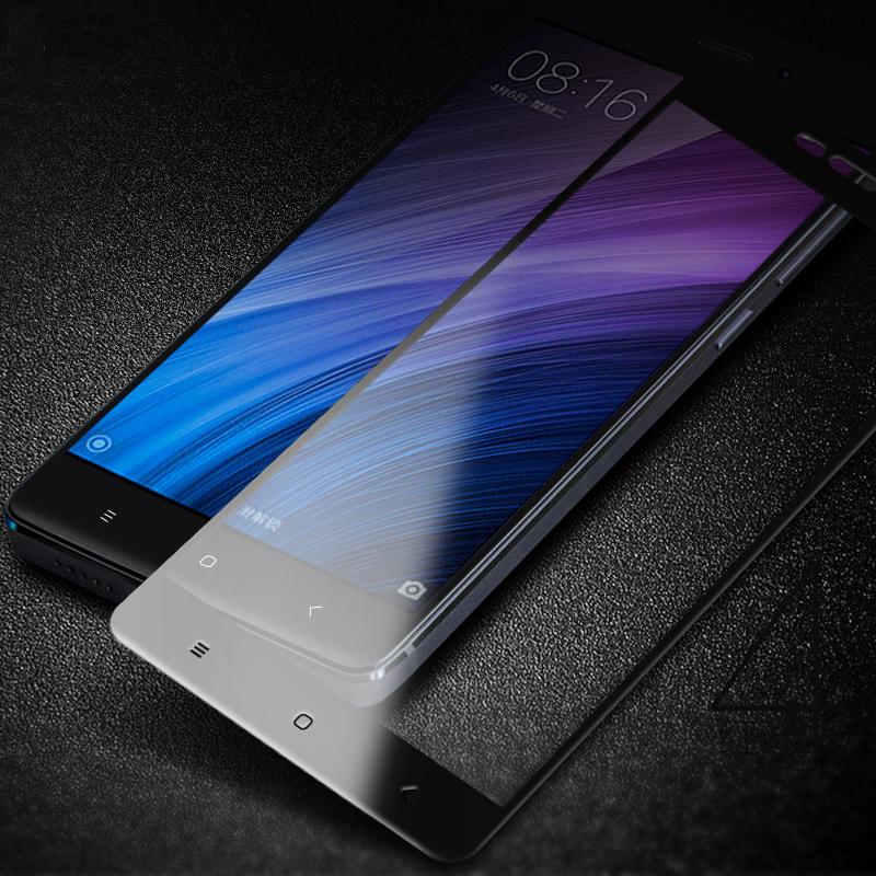 9H 2.5D Full Cover Tempered Glass for Xiaomi Redmi 4 Pro 4A Premium Screen Protector Glass Cover Film for Redmi 4 Pro Prime2