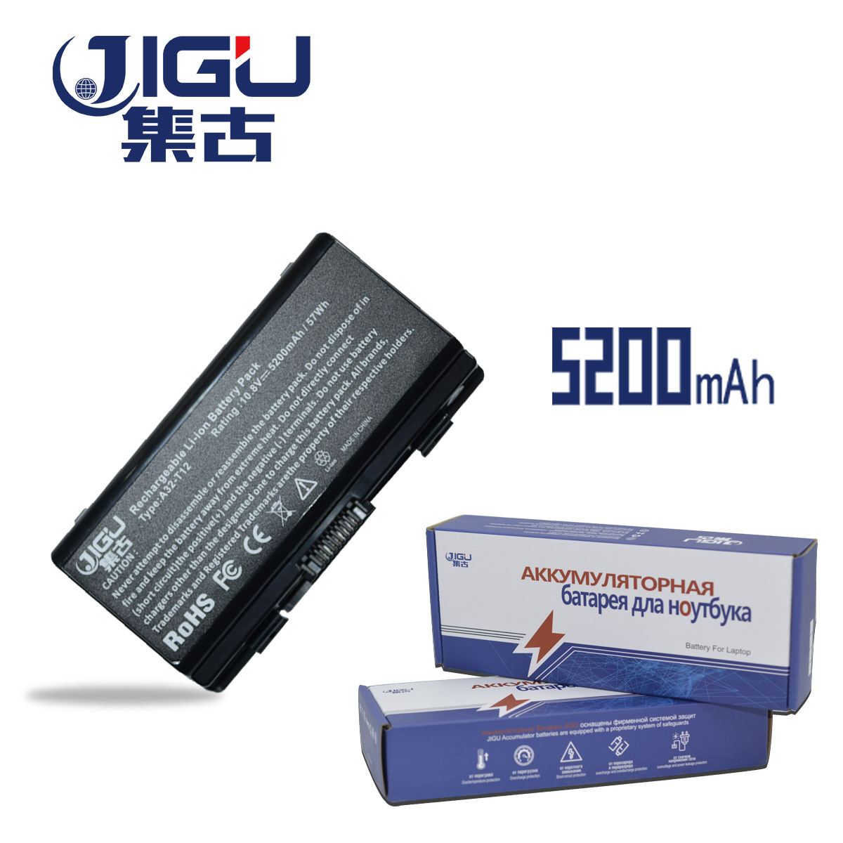 JIGU [Special Price] New Laptop Battery For Asus X51H X51L X51R X51RL T12b T12C T12Er T12Jg T12Mg A32-X51 A32-T12 A32-T12J цена и фото