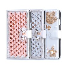 Coque For ZTE nubia Z 11 mini Case Glitter Wallet PU Leather Cover For ZTE nubia Z11 mini Case Handmade Diamond Fundas Case