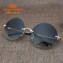 Роскошные Брендовая Дизайнерская обувь Италии Круглые Солнцезащитные очки 2017, женская обувь коричневые винтажные металлический оттенок frame ретро крест Nerd солнцезащитные очки без оправы