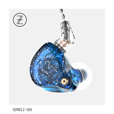 2017 Le Parfumé Cithare TFZ Série 2 Version Édition Spéciale 2Pin Interface HIFI Moniteur Dans L'oreille Sport Écouteurs DJ Écouteur