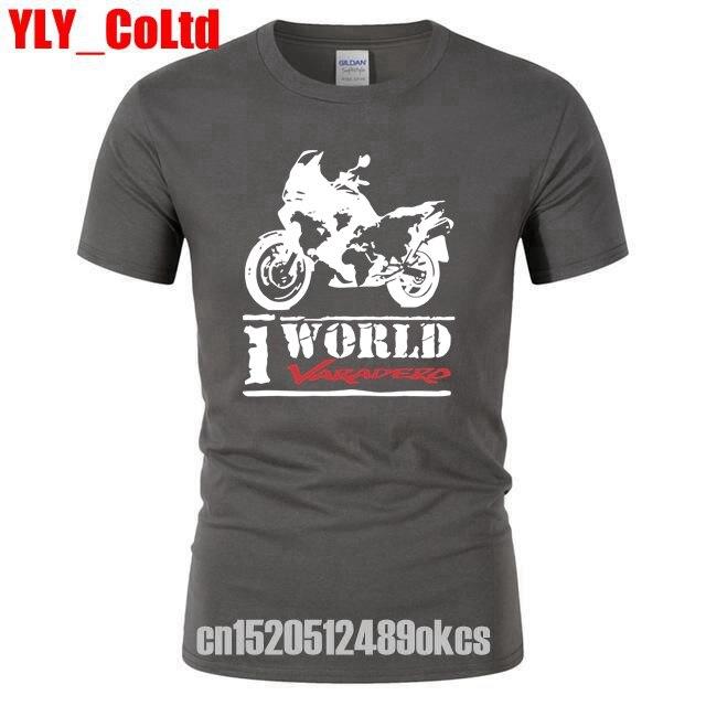 2019 Fashion Motorcy One World One Varadero   T     Shirt   Short Sleeve Xl 1000   T  -  Shirt   Motorcycle Fans Men's Cars Tee TShirts