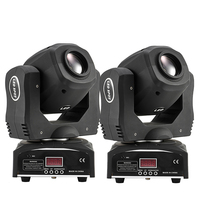 (2 pieces/lot) Moving Head Spot Led Light Stage Lighting For Party or Mobile DJ