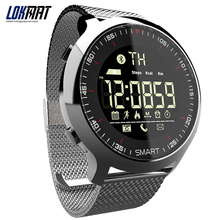 LOKMAT Smart Watch Men Sport Watch Bluetooth Waterproof bracelet band Support Call And SMS reminder SmartWatch Wearable Devices