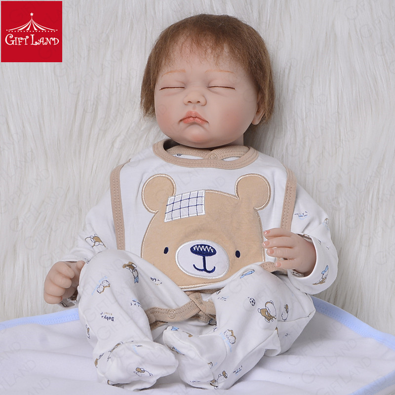 Reborn Baby Doll Adorable Doll Lovely  Cartoon Bb Reborn Toddler Toy With Little Hat And Cute Socks Toy With Soft Hair Hot SaleReborn Baby Doll Adorable Doll Lovely  Cartoon Bb Reborn Toddler Toy With Little Hat And Cute Socks Toy With Soft Hair Hot Sale