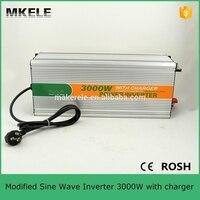 MKM3000 482G C high efficiency dc48v ac 230v modified sine wave 3kw inverter power inverter for cars with charger