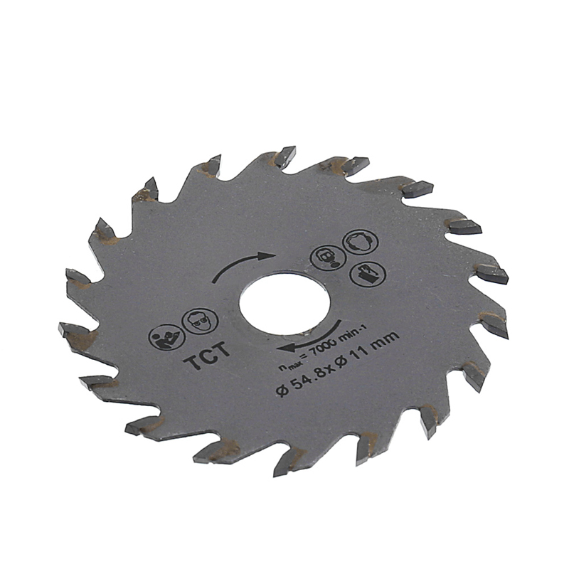 3 Pcs Circular Saw Blade Cutting Disc HSS Cutter Disc Shank For Mini Drill Tools Wood Drills Tools Out Diameter 54.8mm
