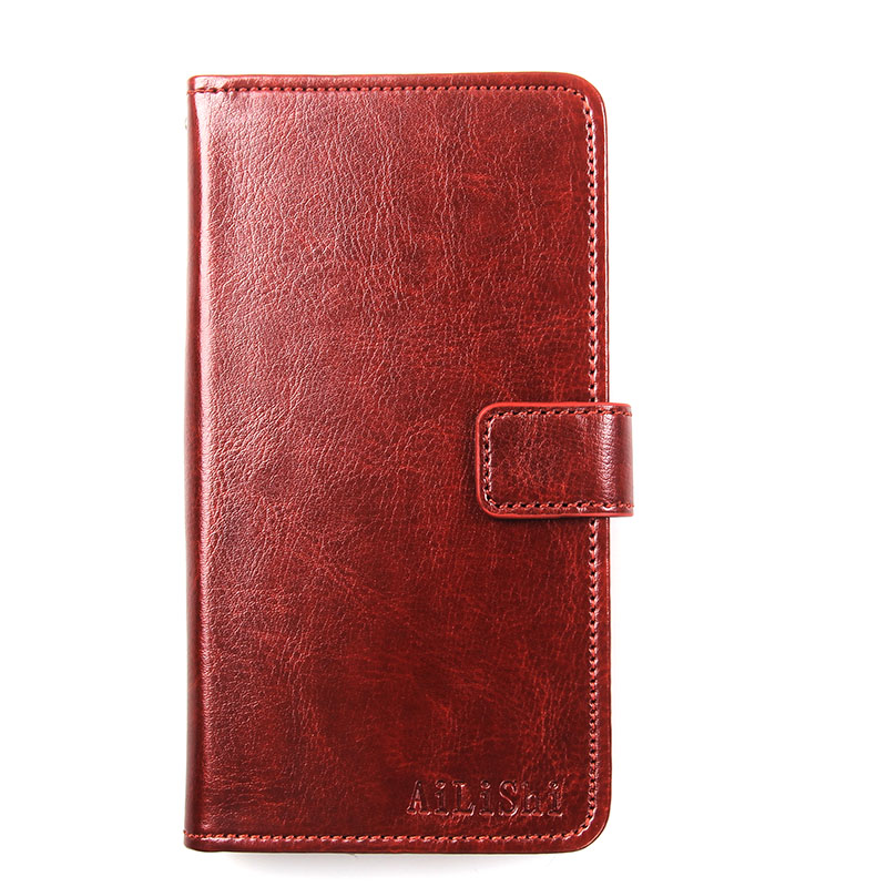 AiLiShi Flip Leather Case For Ulefone Paris Case Hot Sale Protective Cover Phone Bag Wallet 4 Colors In Stock !
