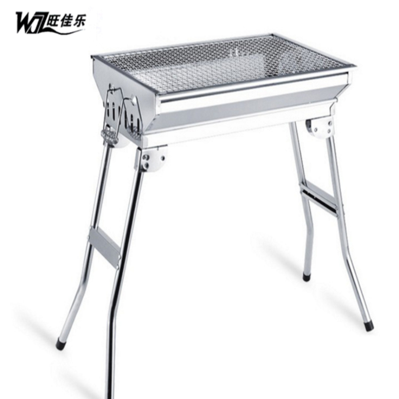 Bbq portable stainless steel large barbecue stove