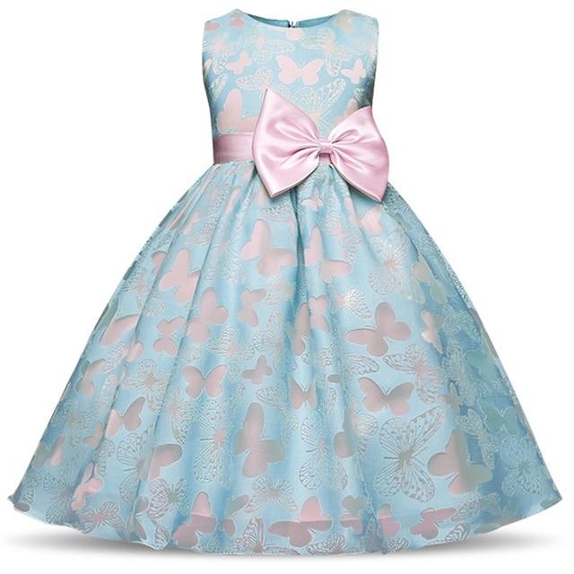 da822071aad5 Fancy Kids Dresses For Girls Children Baby Girls Clothes Princess Summer  Dress Little Girl Party Wear 4 5 6 8 10 Years Birthday