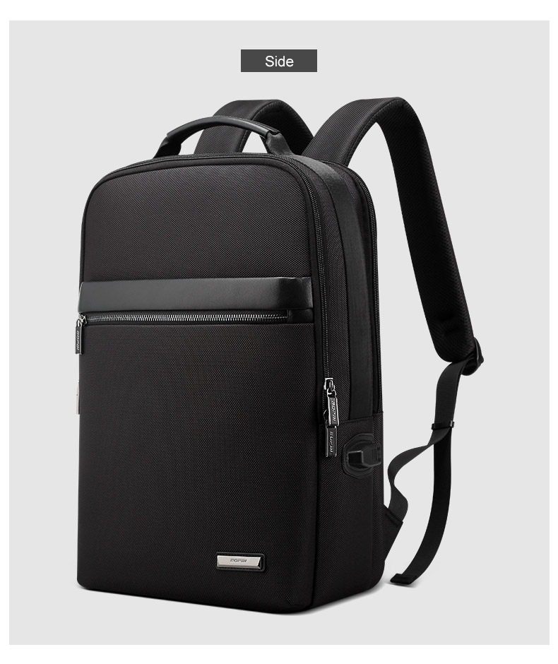 c7673a6a58 BOPAI Slim Laptop Backpack Men 15.6 inch Office Work Men Backpack Business  Bag Unisex Black Ultralight Backpack Thin Back PackUSD 46.05/piece