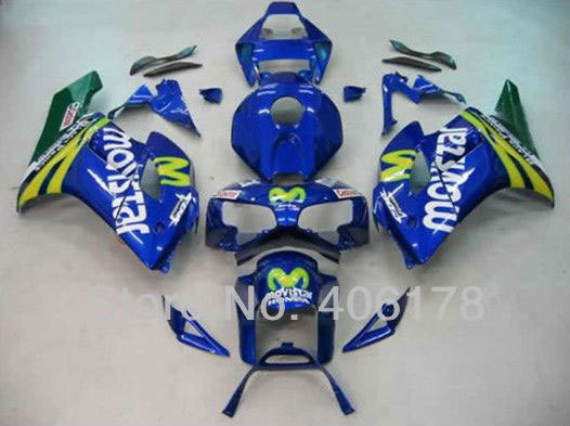 Hot Sales,Motorcycle Parts For Honda Fairing CBR1000RR 2004 2005 CBR1000 RR 04 05 MoviStar Moto Fairing Kit (Injection molding) hot sales for honda cbr600rr 2003 2004 cbr 600rr 03 04 f5 cbr 600 rr blue black motorcycle cowl fairing kit injection molding