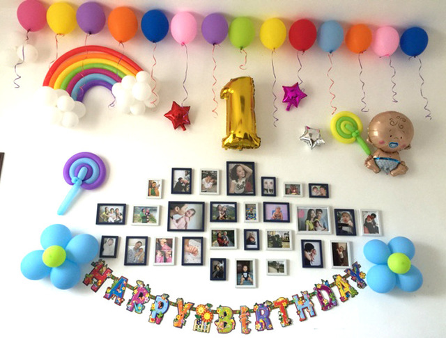 25pcs Bag Rainbow Latex Balloons Wedding Valentines Day Birthday Party Decoration Home DIY Decor WYQ