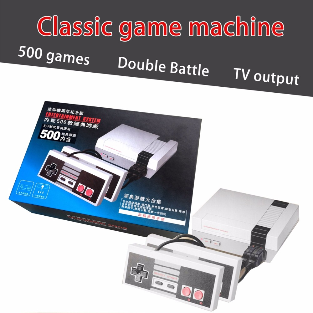 JRGK Mini TV Handheld Video Game Console For Nes Games