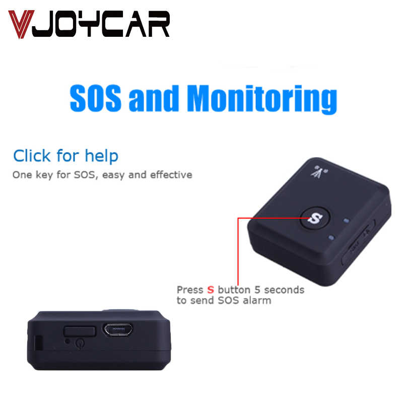 VJOYCAR GSM Tracker Personal LBS GPRS Tracking Devices With Locator SOS Communicator For Kids  Free APP Web Drop Shipping 40